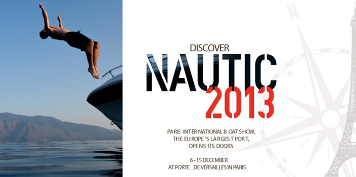 "MAX POWER   ""MAXthrusted""   Salon Nautique   International in Paris"