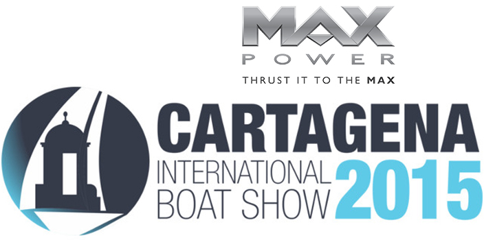 MAX POWER at Cartagena Int. Boat Show 2015
