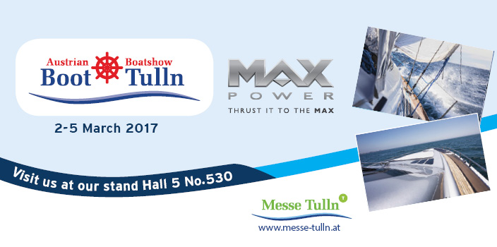 Thrust it to the MAX at BOOT TULLN 2017