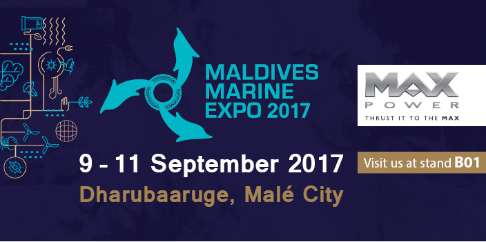 MAX POWER at Maldives Marine Expo 2017