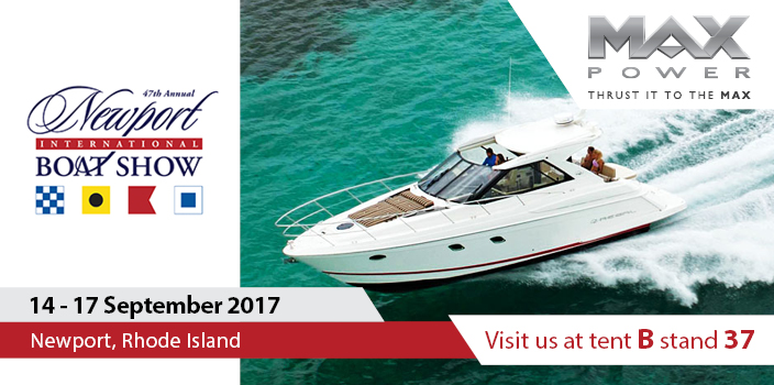 MAX POWER at Newport International Boat Show 2017