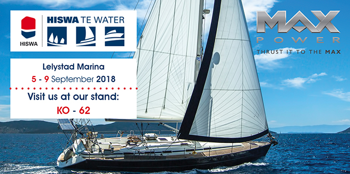MAX POWER at Hiswa te Water Boat Show 2018