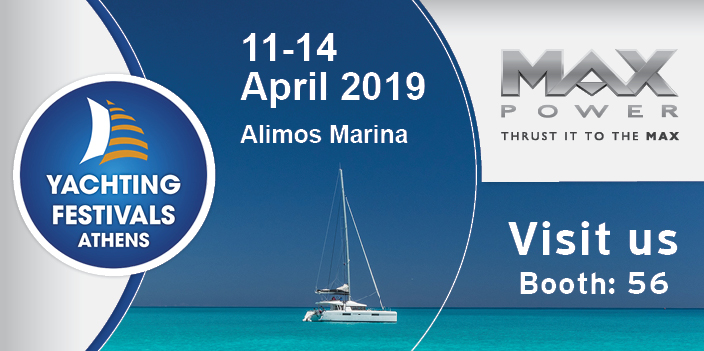 MAX POWER at Athens Yachting Festival 2019