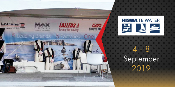 MAX POWER introduced its innovative solutions at the HISWA Boat Show!