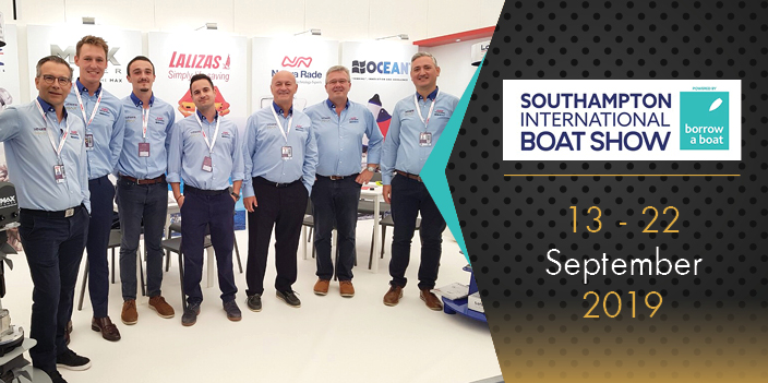 MAX POWER made quite an impression during Southampton's International Boat Show 2019!