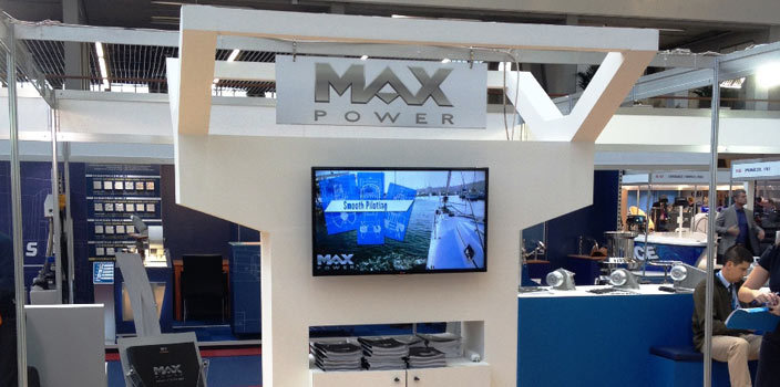 MAX POWER at GENOA INT. BOAT SHOW 2014