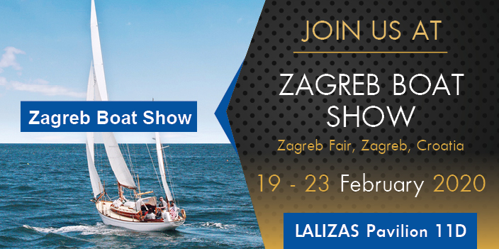 MAX POWER is going to the Zagreb Boat Show 2020!